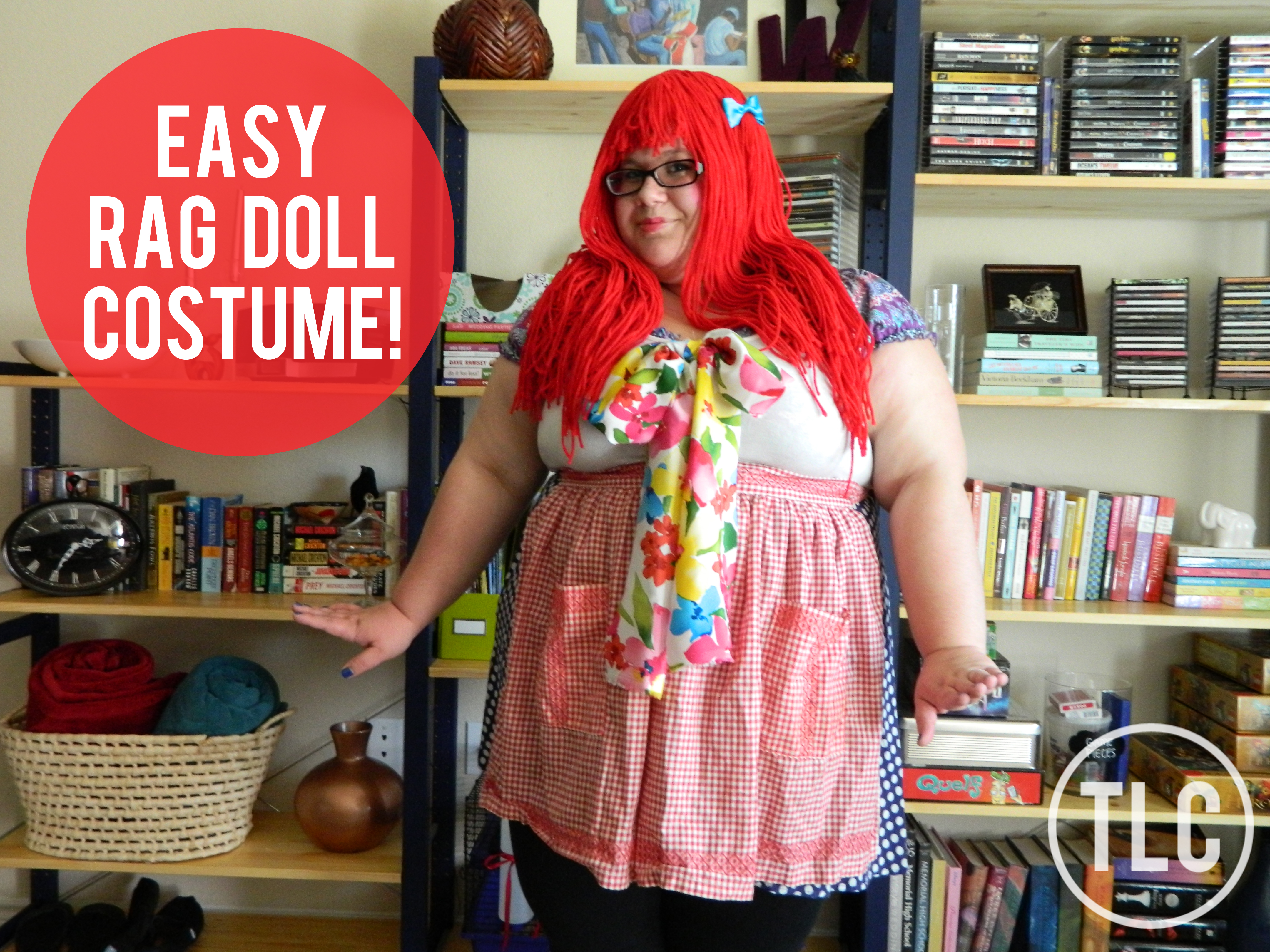 Celebrate The Holidays Simple And Cheap Rag Doll Costume Two Live