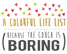 A Colorful Life List Promo copy