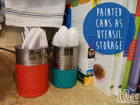 Easy Paint Projects (11) - Painted Cans copy
