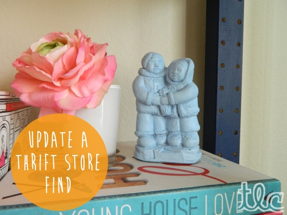 Easy Paint Projects (15) - Thrift Store Find copy