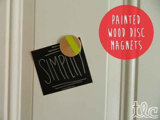 Easy Paint Projects (2) - Disc Magnets copy