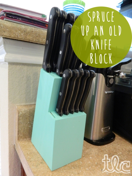 Easy Paint Projects (8) - Knife Block copy