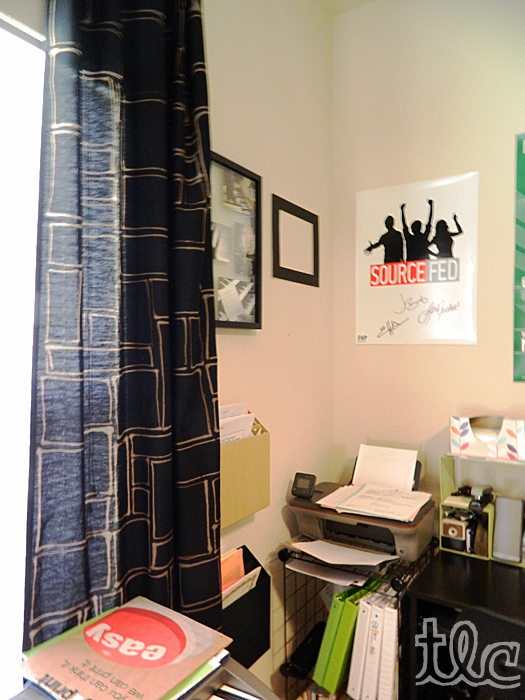 Finished office makeover Desk Makeover Finishedofficemakeover3 Two Live Colorfully Wordpresscom Diy Two Live Colorfully